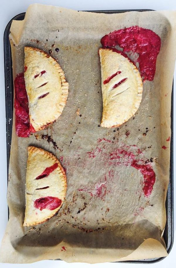 Vanilla Bean, Red Berry and Rhubarb Hand Pies | Parsnip and Pastries