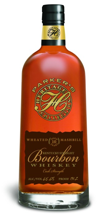 Wheated Bourbon Aged 10 Years, New Parker's Heritage Collection from Heaven Hill Distilleries