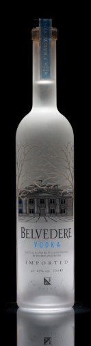 Belvedere Vodka Bottle