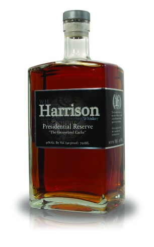 "W. H. Harrison Presidential Reserve Bourbon ""The Grouseland Cache"""