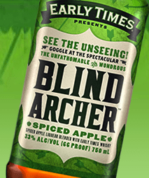 Blind Archer Early Times Spiced Apple Whisky
