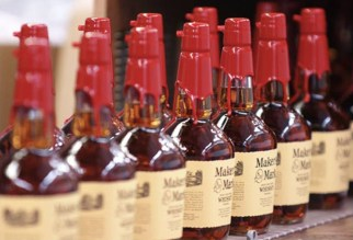 Maker's Mark bottled at the reduced 42% proof