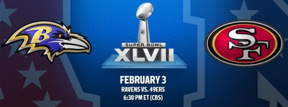 Super Bowl Ravens vs 49ers