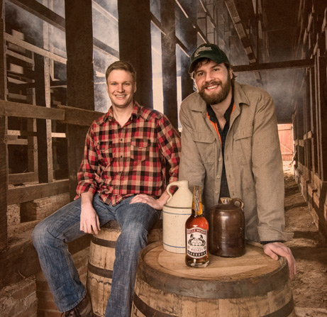 Andy Nelson and Charlie Nelson of Belle Meade Bourbon
