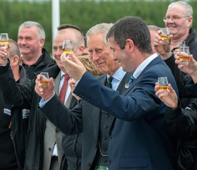 Duke of Rothesay Prince Charles Toasting