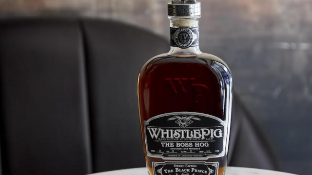 "WhistlePig 4th Edition Boss Hog ""The Black Prince"" Finished in Armagnac Casks"