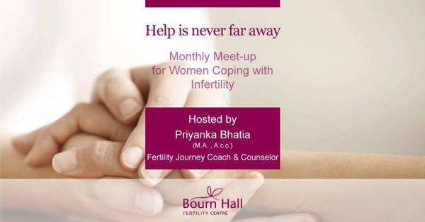 (English) Bourn Hall launches a monthly women's support group