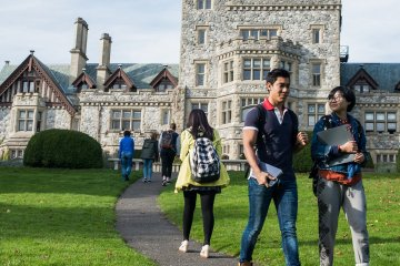 Master ou Bachelorau Canada à L'Université Royal Roads