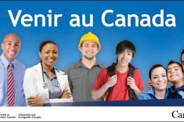 Bourse au Canada et Stages à l'extérieur du Québec