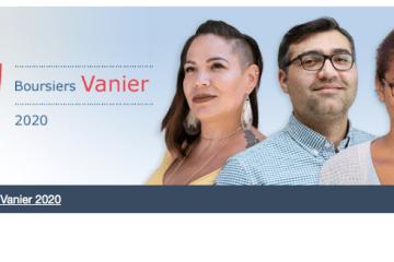 Ouverture des Bourses Vanier 2020 du Canada
