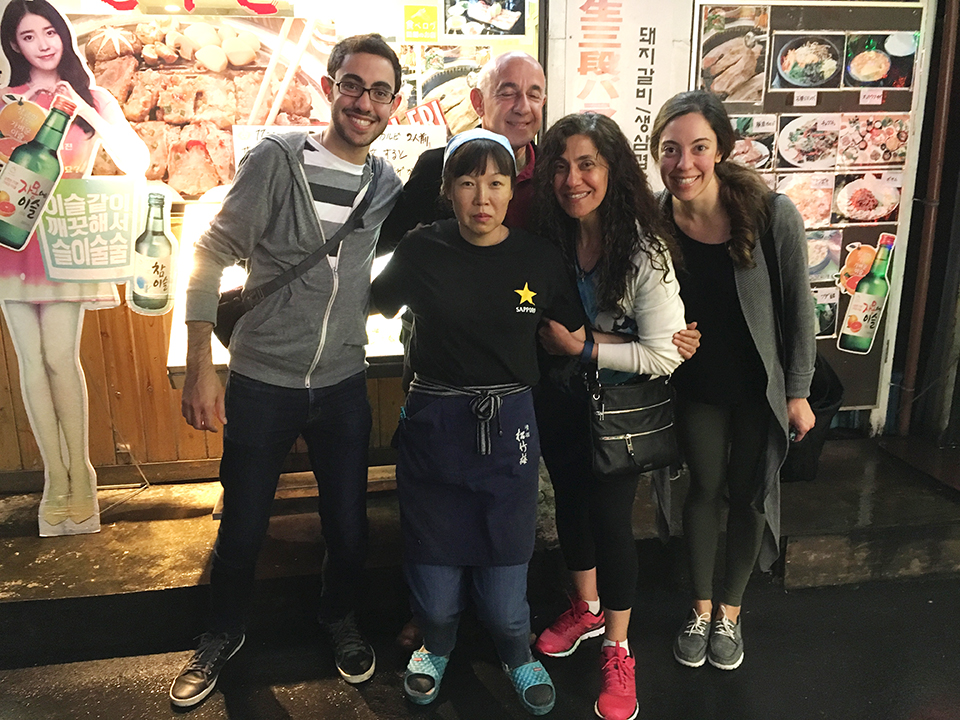 Korean BBQ at Shin Okubo