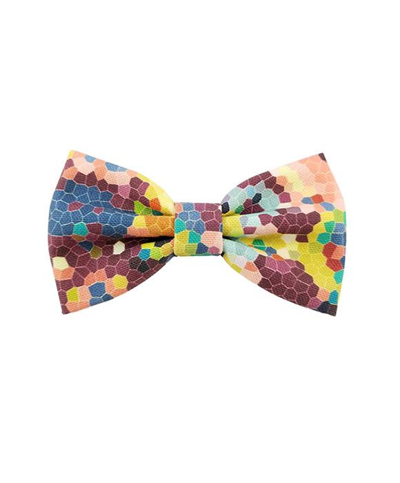 White Polka Dot Cotton Bows Handmade Multiple Colors