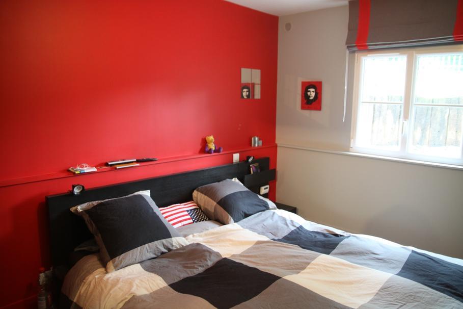 Decoration Chambre A Coucher Noire Et Rouge ...