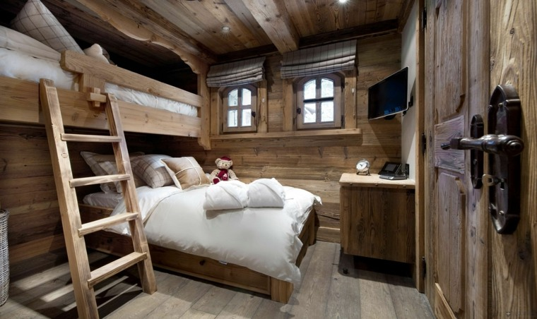 Deco Chambre Style Chalet