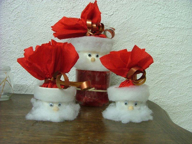 Fabriquer Deco Noel Papier Crepon Visuel 8