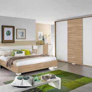 Chambre à coucher adulte 3 portes coulissantes