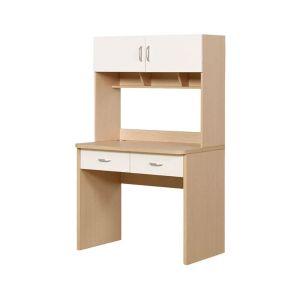 bureau niche rengement tiroir et portes pour enfant