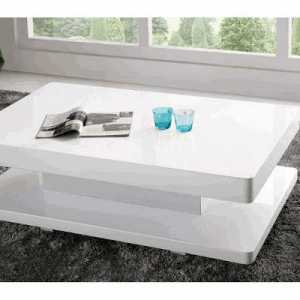 Table basse OVA blanche tunisie
