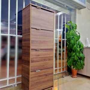 porte chaussure marron 4 étages tunisie pour un maximum d'espace