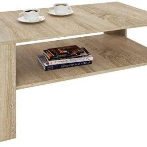 table basse avec etage pour salon ou séjour