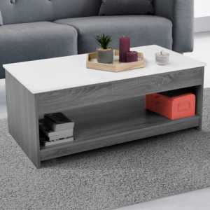 table basse blanc et gris table basse tunisie