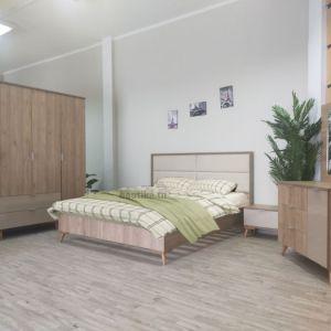 Chambre à coucher scandinave style nordique moderne chic