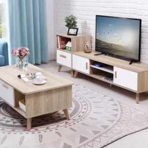 ensemble table TV et table basse en promotion en Tunisie