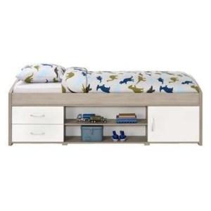 lit 1 place shopa avec tiroirs et rangement