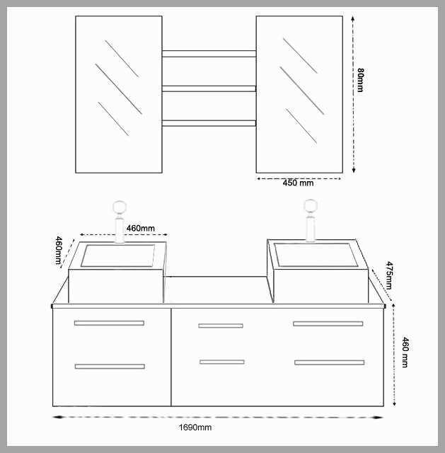 Dimension Evier Salle De Bain Boutique Gain De Placefr