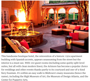 Top 10 Best Hotels In Atlanta The Guardian Boutique Hospitality Management