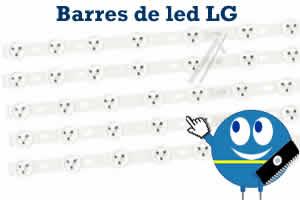 barres de led pour les televisions lcd lg