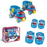 Mondo – 18390 – Vélo et Véhicule pour Enfant – Set Roller Skate + Protections Ultimate Spiderman