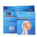 Bigood 10Pcs Protège-Doigts Soutien Protection Doigt pour Volley-Ball Basket-Ball Sport Noir