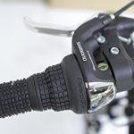 Ecosmo 21SP Shimano-26SF02BL VTT pliable avec roues de 26″