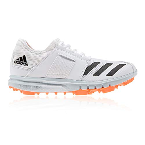 adidas Howzat Junior Cricket Chaussures de Course à Clous SS20 – Blanc – Blanc, 36.5 EU EU
