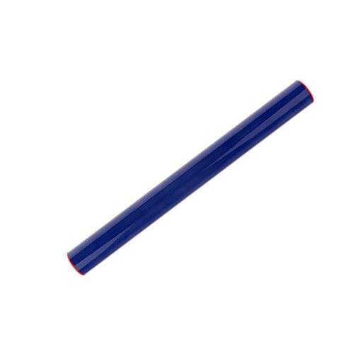 Generic Témoin Relais Bâton de Course en Plastique Multicolore pour Sports d'Athlétisme Jeux de Course Ecole Club Sport – Bleu, Taille Unique