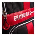 Gris Nicolls Extratec protection Test Sac fourre-tout Noir/rouge/blanc