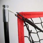 Jklt Filet D'entraînement de Baseball Net Pratique Baseball et Softball avec Frapper Prise au Attraper Lancer Net d'entraînement Net Sac de Soutien Conception Facile à Utiliser et Stable