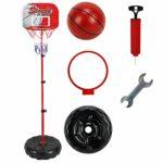 L.O.L. LOL LO Ensemble de Panier de Basket-Ball pour Enfant Hauteur réglable Système Portable Jouet de Sport d'intérieur
