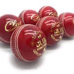 Lot de 6 balles de cricket officielles Mozi sports – Cousues à la main – Pour hommes – Classe A – Poids de chaque balle: 156 g.