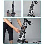 Muium for Xiaomi M365 Ninebot Pro Accessoires Mini-Pompe à air de vélo portative avec gonfleur