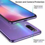 Oihxse Compatible pour Samsung Galaxy A30s Coque [Mignon Transparente Éléphant Lapin Motif Séries] Housse TPU Souple Protection Étui Ultra Mince Anti Choc Animal Case (A1)