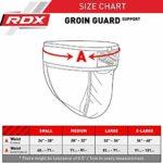 RDX Boxe Coquille Anatomique Suspensoir Slip Coquilles Protection Sport MMA Combat – Noir/Vert – Large