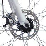 Vélo de montagne pliable26″ – 26SF02W – Dérailleur Shimano à 21 vitesses – Sac de transport – Ecosmo