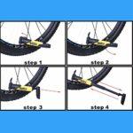 YHWLKK Gonfleur Rapide et Facile – Pompe à vélo des pneus for vélo de Route et de Montagne – isolé Manches -Inflator Stockage Canister Safe Gris