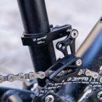 Diamoen Vélo monodisque chaîne Guide Protecteur Vélo de Montagne en Alliage d'aluminium Tendeur VTT Accessoires