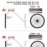 maxxi4you Kenda K-142 28″ Pneu de vélo Rose 40-635 (28 x 1 1/2) + 2 tuyaux assortis SV avec 3 démonte-pneus