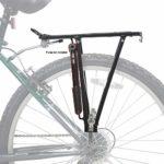 Ventura Porte-bagages en aluminium Pour vélos 24″/26″/28″ Noir