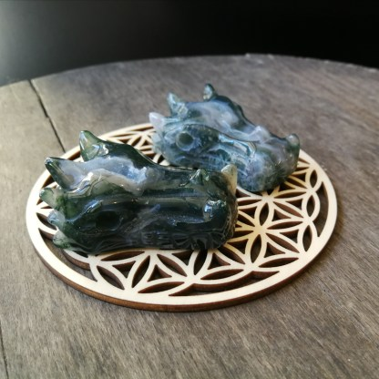 Dragon Agate mousse