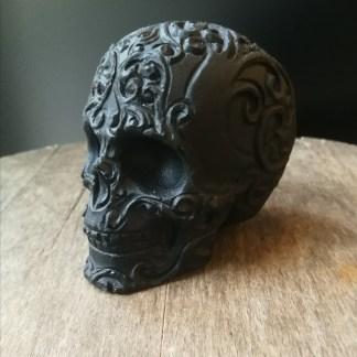 Crâne obsidienne